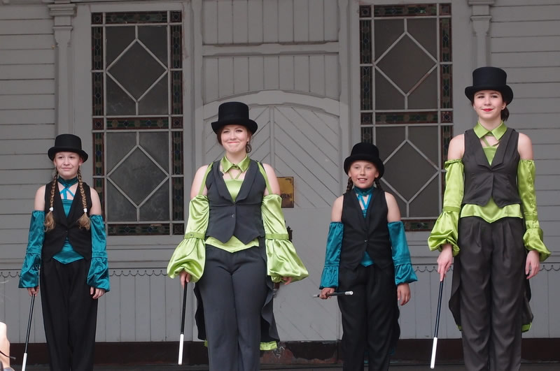 Stepařské číslo, vystoupení, choreografie