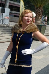 dámský kostým 20. léta