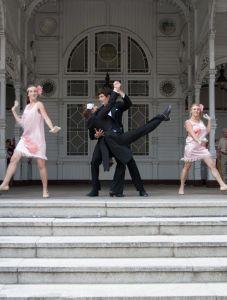 tanečně- stepařské vystoupení Charleston