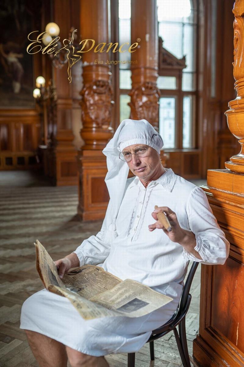 Pánské dobové prádlo, historické prádlo