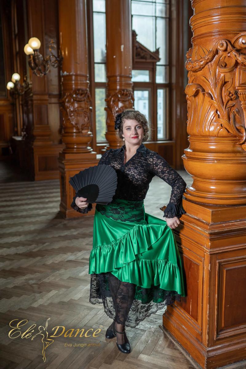 flamenco sukně, taneční sukně