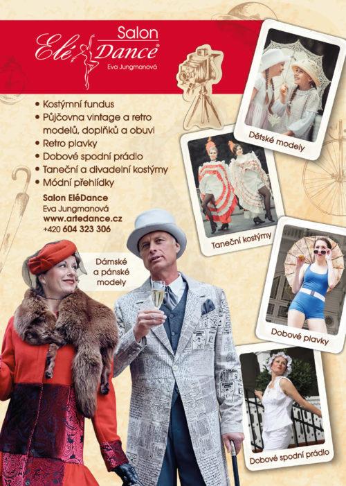 Půjčovna kostýmů - retro a vintage modely, divadelní kostýmy