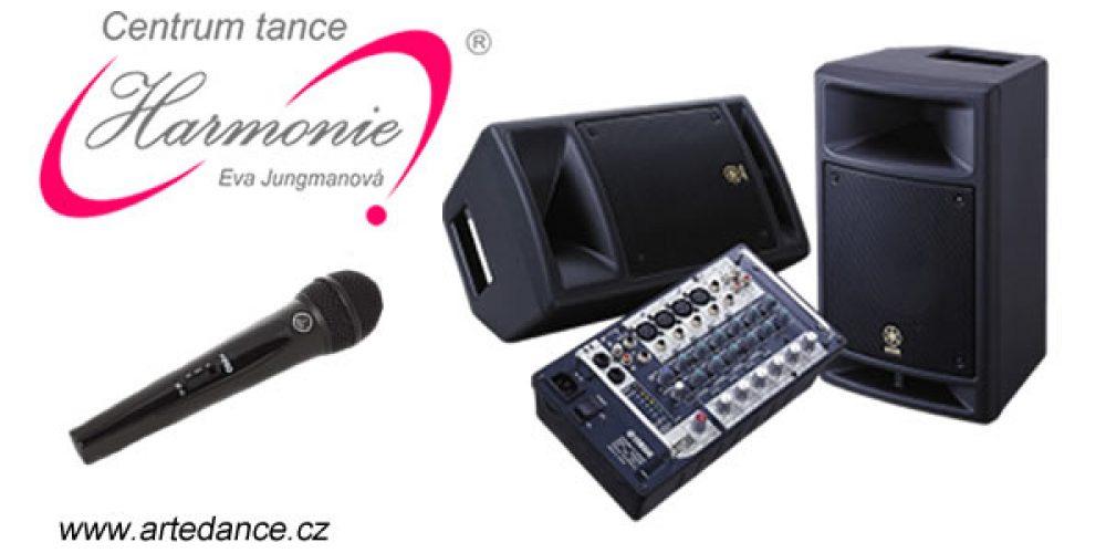 Zvuková aparatura + příslušenství
